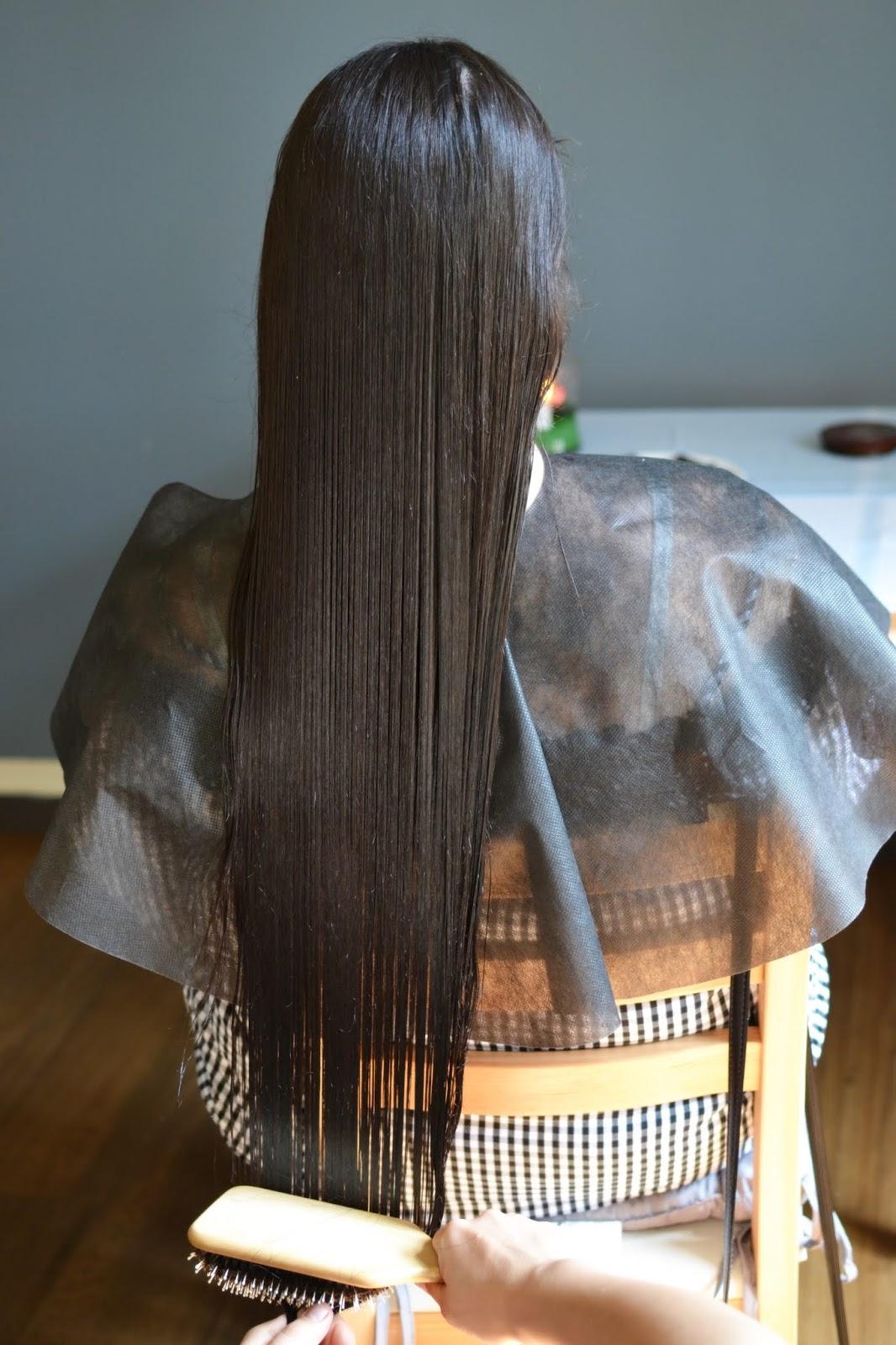 efekty olejowania włosów