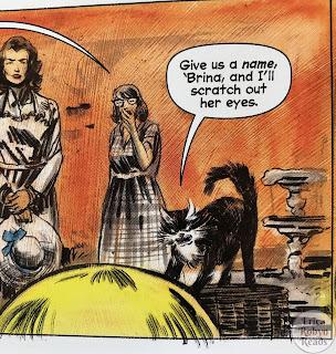 Sabrina comic Salem panel