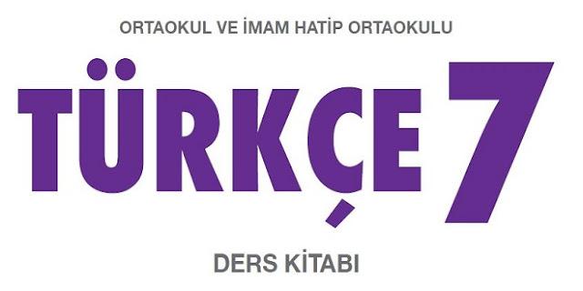 7. Sınıf Türkçe Ders Kitabı Dersdestek