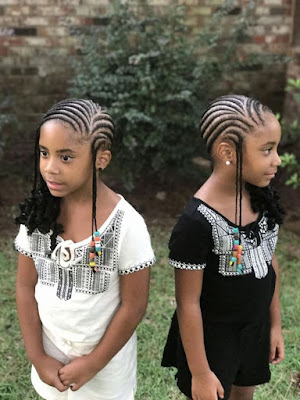 Here we have a stunning short tribal braid idea that has been finished off with beads ✘ 32 African Long Tribal Braids Ponytail Updos To Try In 2020