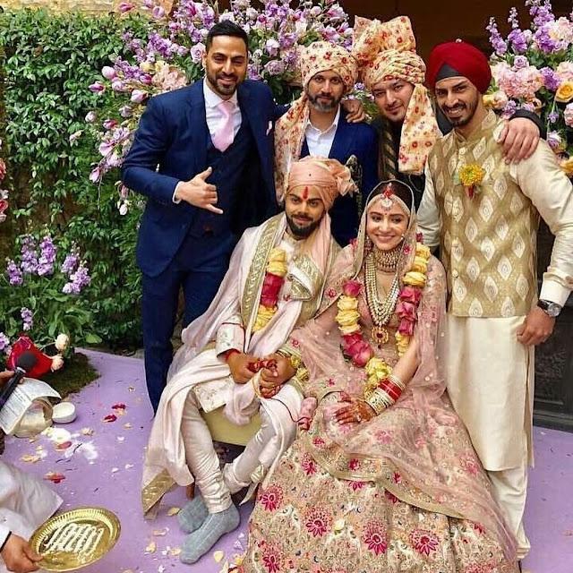Virat - Anushka Wedding Pics