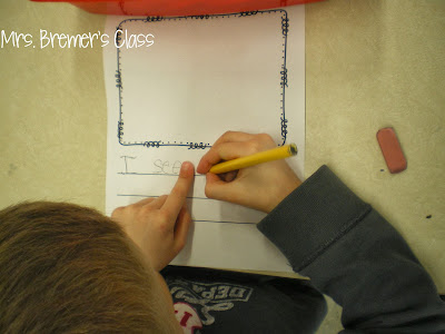 Writing center activities for Kindergarten