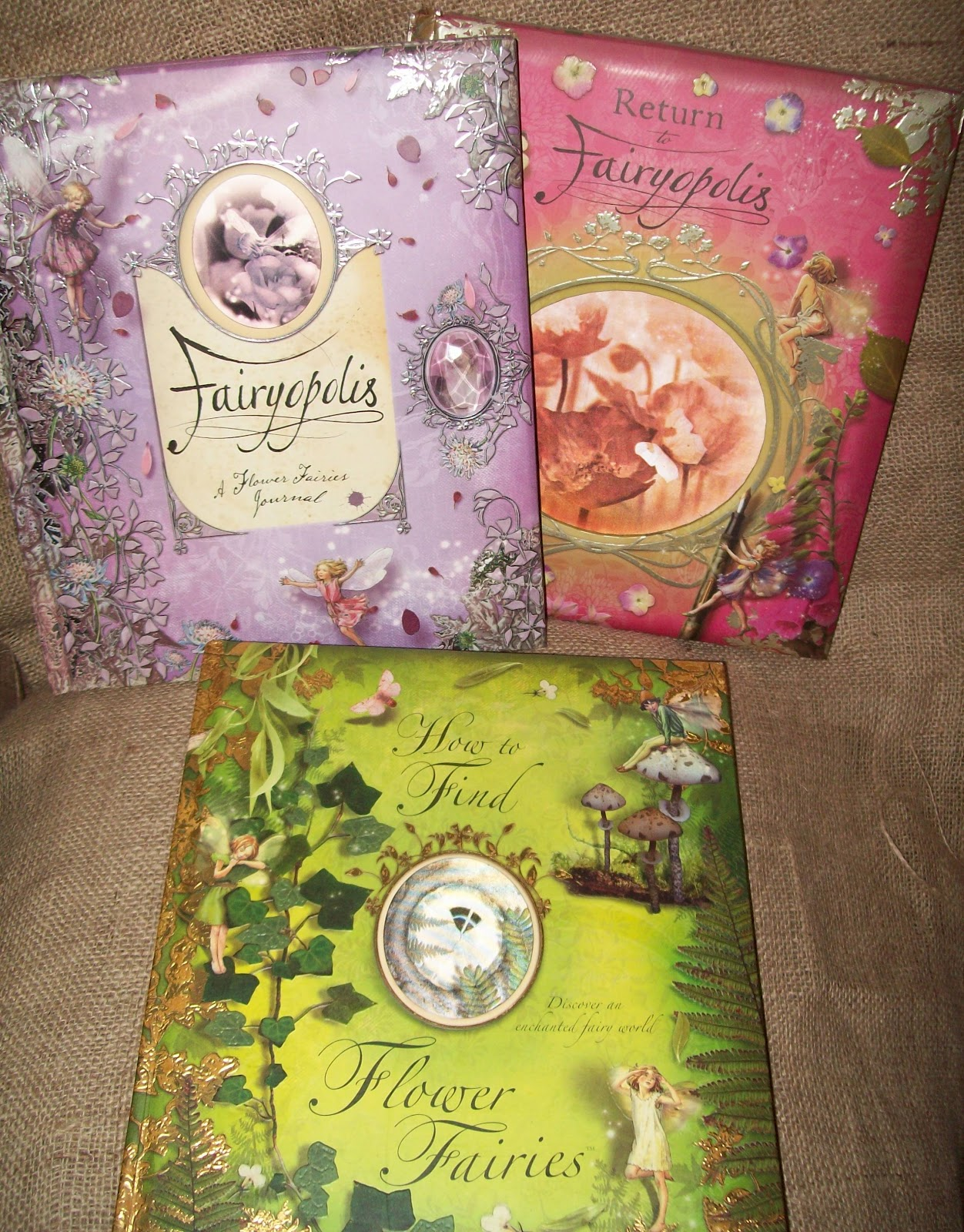 April's Homemaking: Our Fairy Garden 2012 And A Fairy Book