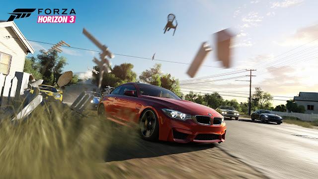 Os traemos la comparación gráfica PC-ONE de Forza Horizon 3