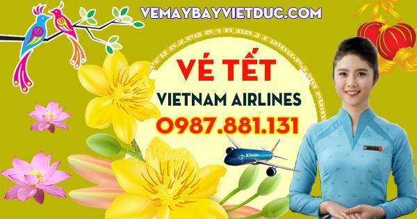 vé ưu đãi tết 2018 giá 399,000 đồng của Vietnam Airlines