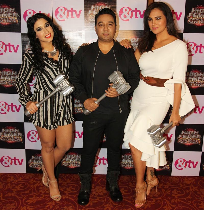 Judges Dana Alexa, Ahmed Khan and Lara Dutta