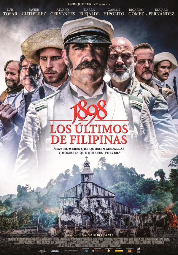 Cartel 1898, los últimos de Filipinas