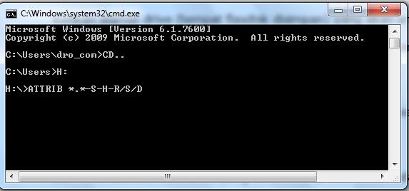 Cara mengembalikan file yang terhapus hilang di flashdisk 4