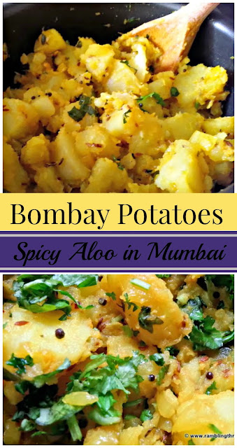 Bombay Potatoes: A simple and delicious potato recipe from India.