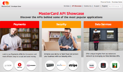 MasterCard API Showcase