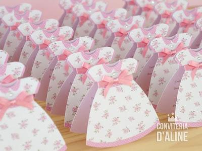 convite festa boneca pano provencal