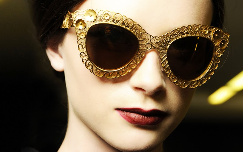 dolce&gabbana d&g fall/winter 2013 collection review sunglasses