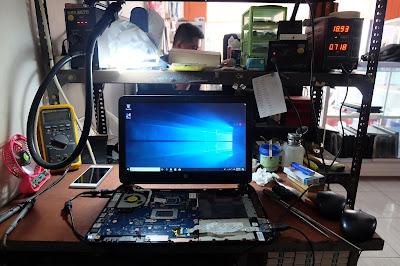 service laptop hp 14 mati total