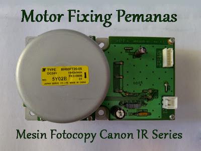 Motor Fixing Pemanas Canon IR 5070 5570 6570 5050 5055 5065 5075