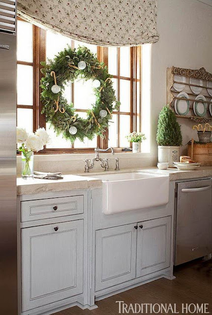 christmas decorating ideas kitchen