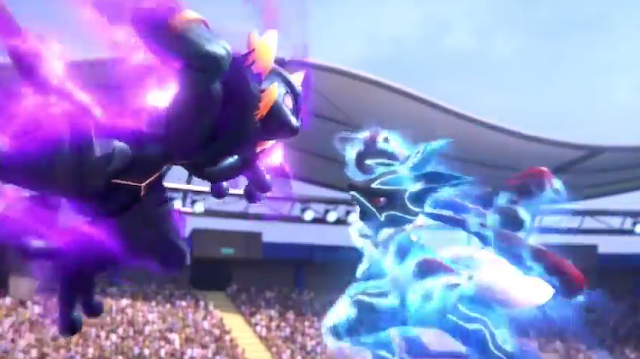Shadow Mewtwo Mega Lucario Pokkén Tournament Pokken