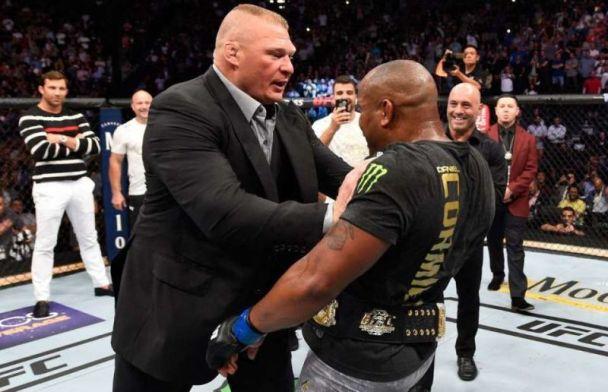 Brock Lesnar Underdog Against Daniel Cormier
