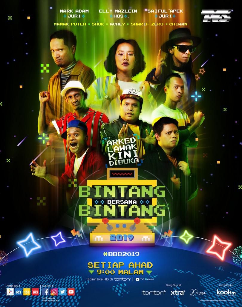 Program Bintang Bersama Bintang Musim 3 (2019)