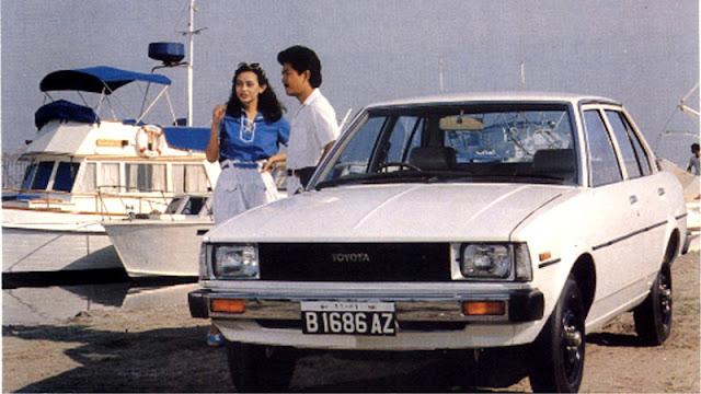 Corolla DX Indonesia standar pabrik