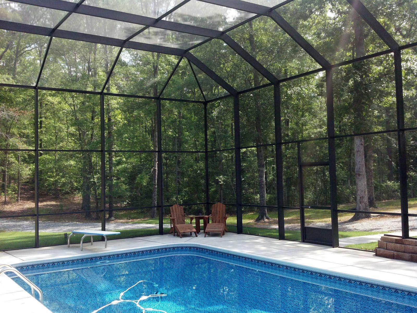 Pool Enclosures Usa Fortson Georgia Pool Enclosure Project