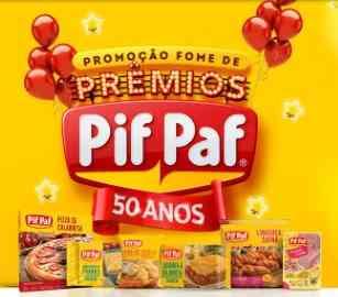 Cadastrar Promoção Pif Paf Alimentos Fome de Prêmios 50 Anos Aniversário 2018