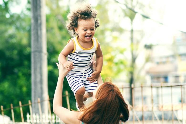 rire d'un enfant