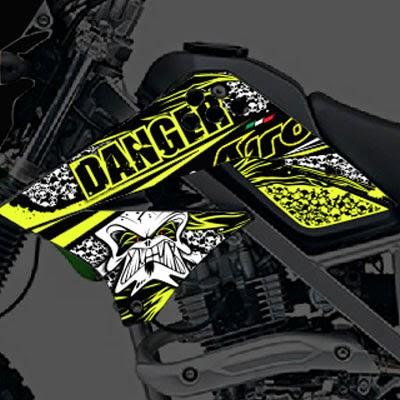 KLX Airoh Danger