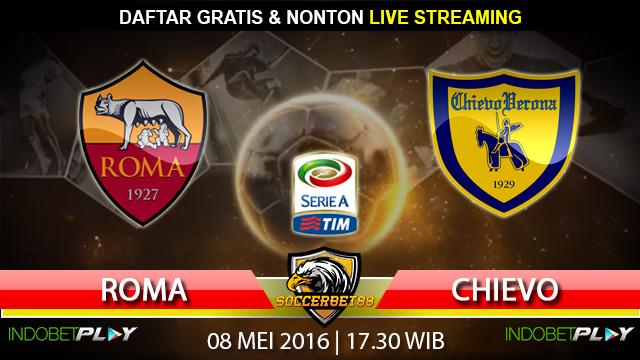 Prediksi Roma vs Chievo 08 Mei 2016 (Liga Italia)