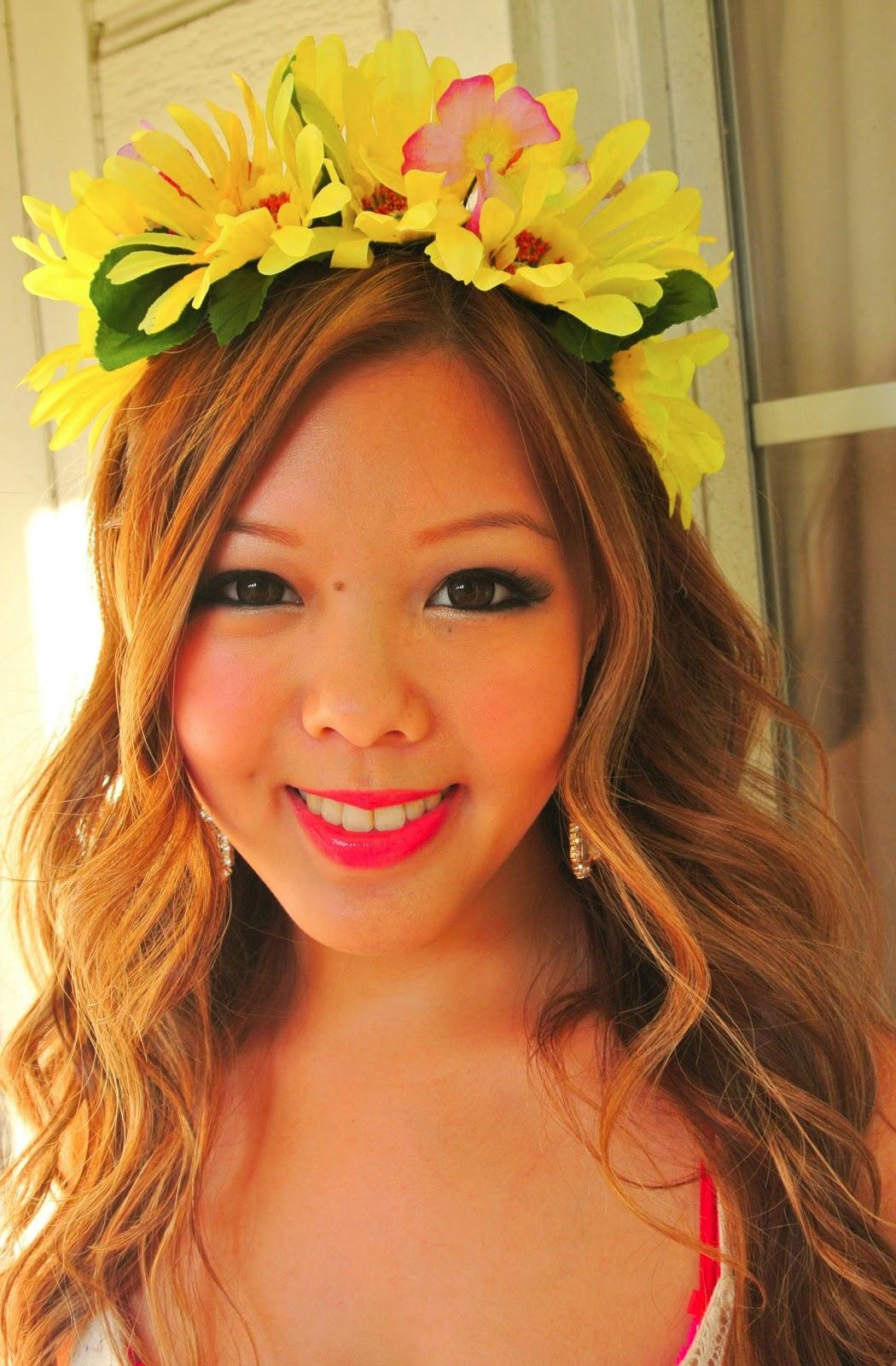 With Love Tiffany Tutorial Diy Flower Headband Crown