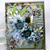 Floral Bird Greeting Card by Ginny Nemchak