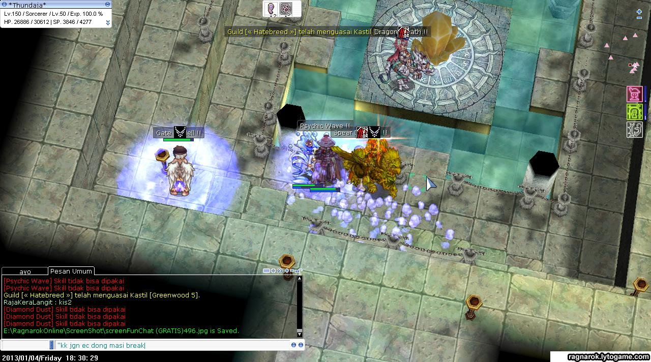 Yan Akhbar Pamungkas's Blog: Ragnarok Sorcerer Guide