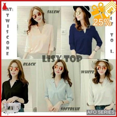 AFO116 Model Fashion Lisy Top Modis Murah BMGShop