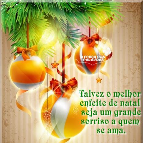 um grande sorriso a quem se ama...natal 2017