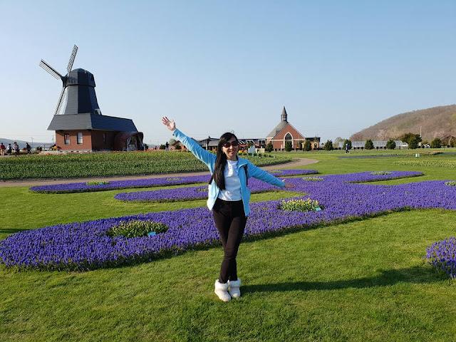 Yubetsu, Hokkaido: Taman Tulip Kamiyubetsu