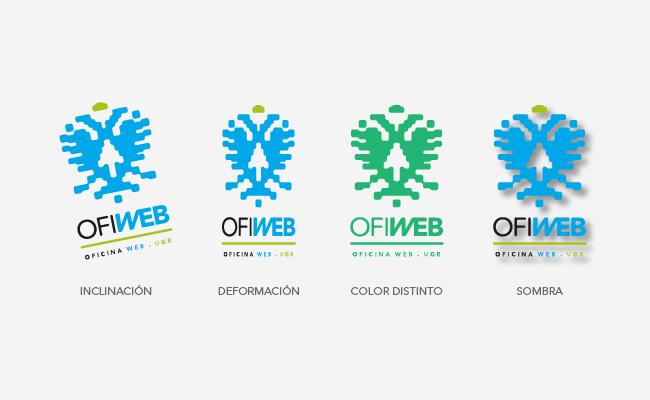 Usos incorrectos de un logotipo
