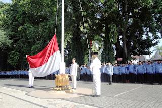 Walikota Mataram Pimpin Upacara Hari Sumpah Pemuda