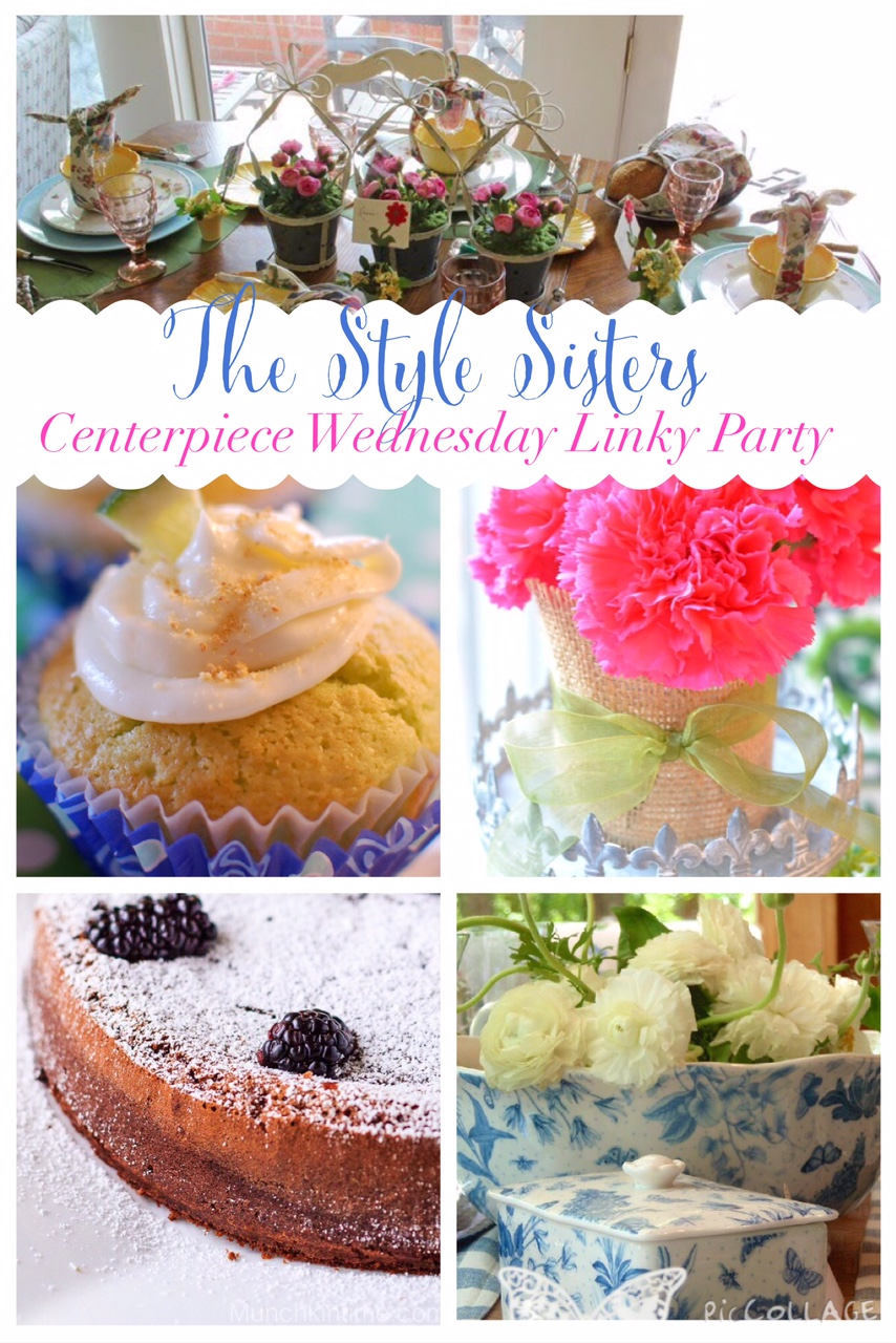 Spring Time Decorations, Tablescapes and Recipes- The Style Sisters