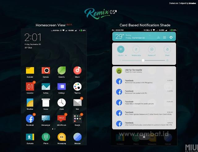Tema Xiaomi MIUI 8 / MIUI 9 Terbaik dan Populer - RemixOS