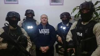 Mallo se había fugado hace 18 días, cuando una pericia confirmó que un arma secuestrada en su casa era la que había sido utilizada para cometer los asesinatos de dos ciudadanos colombianos en el centro comercial de San Isidro en julio de 2008.