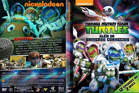 Tartarugas Ninjas – Alem do Universo Conhecido (2016) DVD-R Oficial