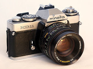 Minolta XD SLR camera