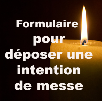 Déposer une intention de messe