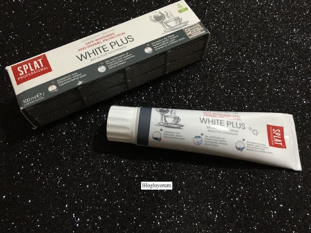 splat professional white plus diş macunu