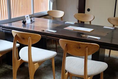 京都府宇治市の古民家カフェ・レストラン ロバ テーブル席