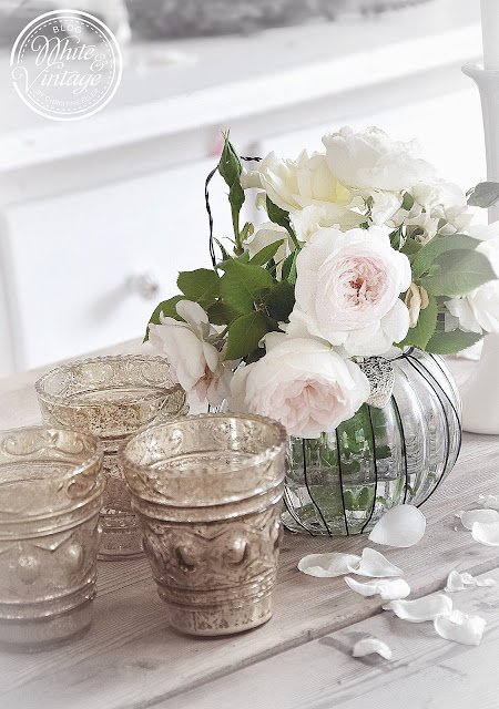 Dekoidee mit Blumen