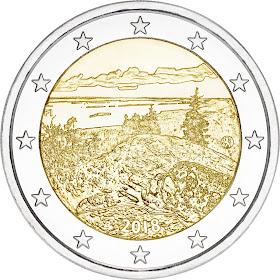 2 euroa erikoiseuro suomi 2018