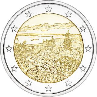 2 euroa erikoiseuro koli suomi 2018