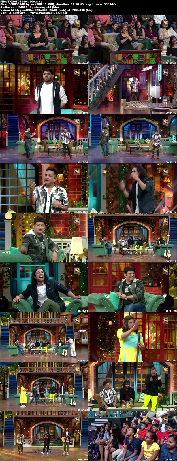 The Kapil Sharma Show S02E56 07 July 2019 480p WEBRip 300Mb