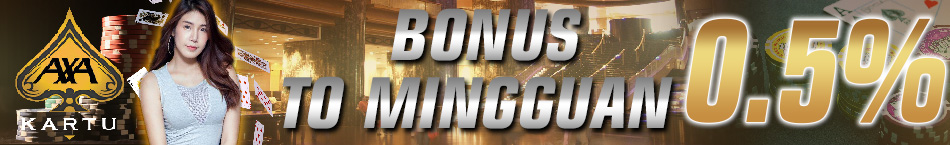 Game Poker Online Bonus Turnover 0.5%