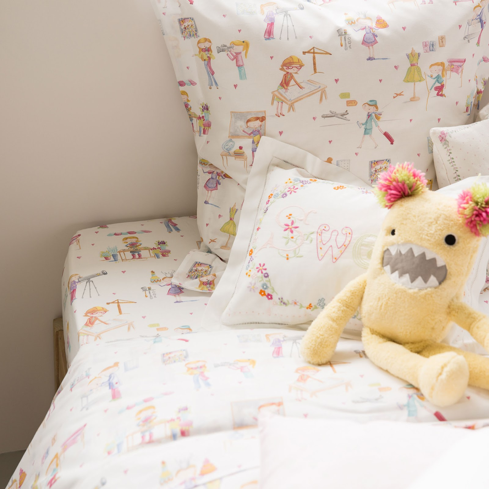 Blog da maggie a roupa de cama na zara home kids - Zara home kids cortinas ...